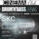 DNB Opening @ Cinema Club 2014