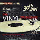 DNB only Vinyl Night 2 @ Cinema Club